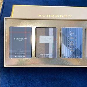 Burberry men perfumes set of 3